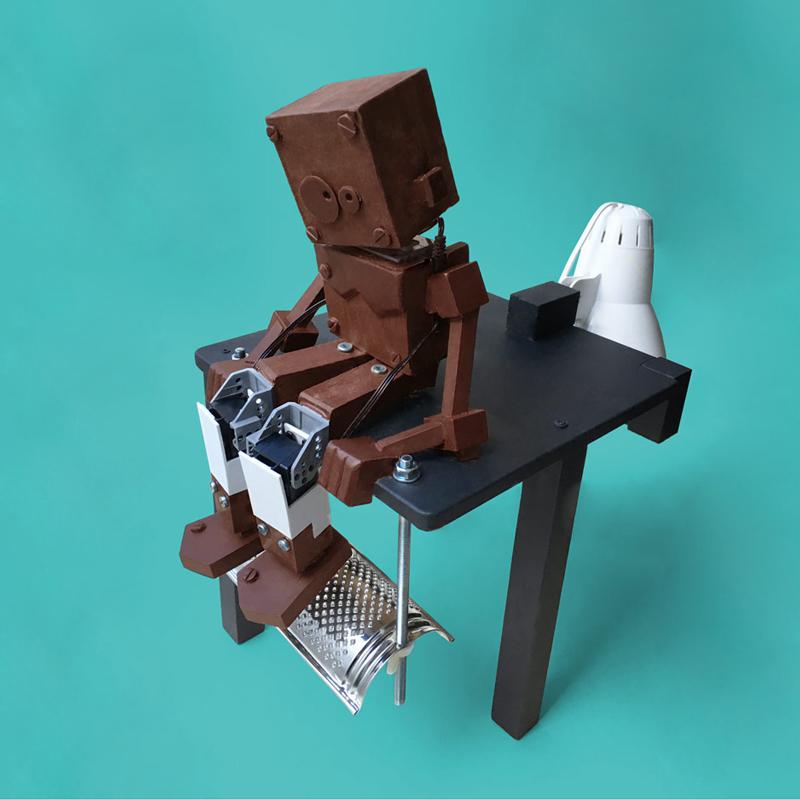 Robot chocolat
